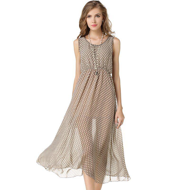 Brand Summer Dress Bohemian Beach Plus Size S-XXXL