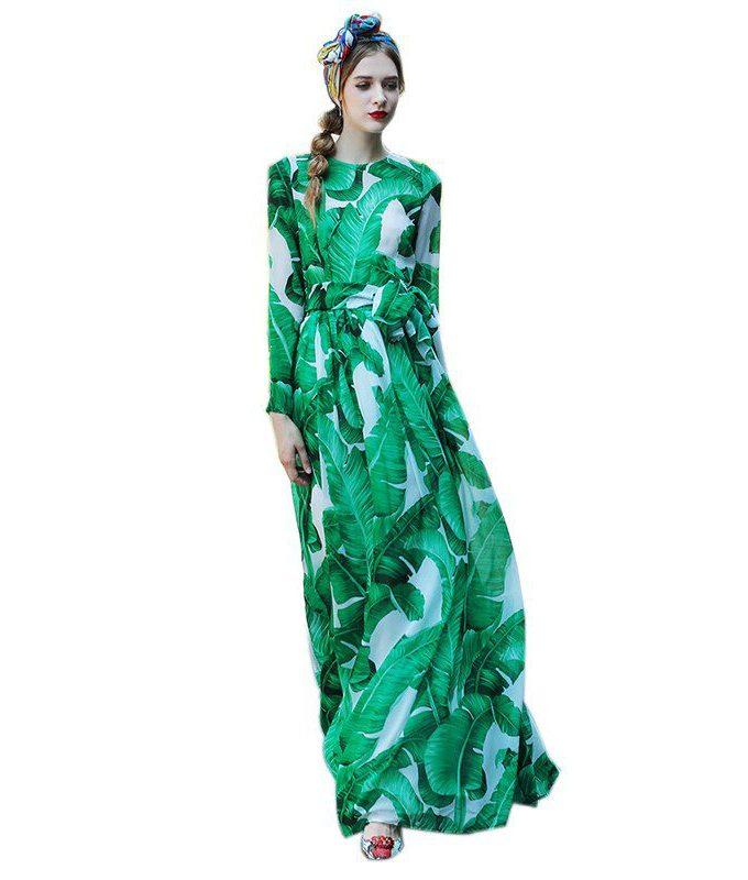 Women's Plus Size XXXL Summer Dresses Long Sleeve