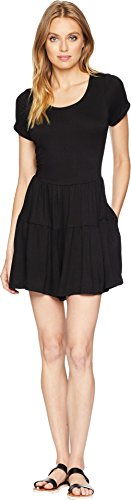 kensie Women's Light Weight French Terry Romper