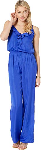 Lilly Pulitzer Women's Tinley Jumpsuit Royal Purple Small