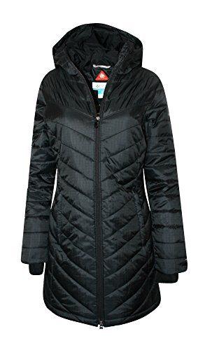 Columbia Womens Morning Light II Omni Heat Long Jacket Coat Puffer