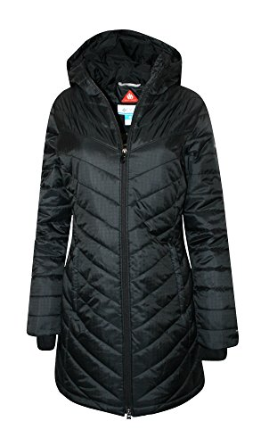 Columbia Womens Morning Light II Omni Heat Long Jacket Coat Puffer