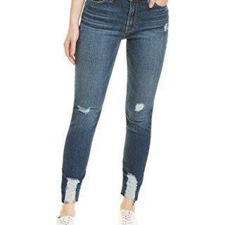 Hudson Jeans Women's Barbara HIGH Waist Super Skinny Ankle Pocket Jean