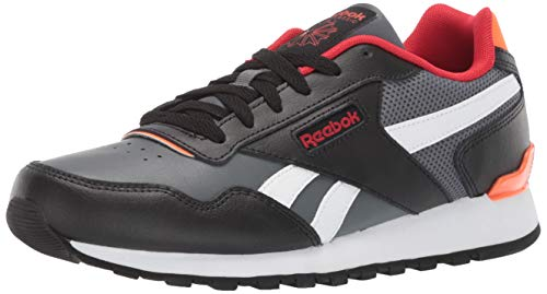 Reebok Men's Classic Harman Run Sneaker, Black