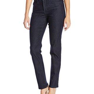 NYDJ Women's Sheri Slim Jeans, Dark Enzyme