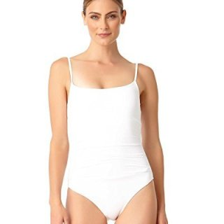 Anne Cole Women's Shirred Classic Lingerie One Piece Swimsuit
