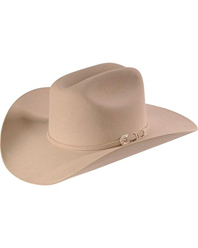 Stetson Men's Skyline Hat, Silver Belly, 7 3/8