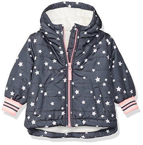 Osh Kosh Baby Girls Midweight Fleece-Lined Jacket