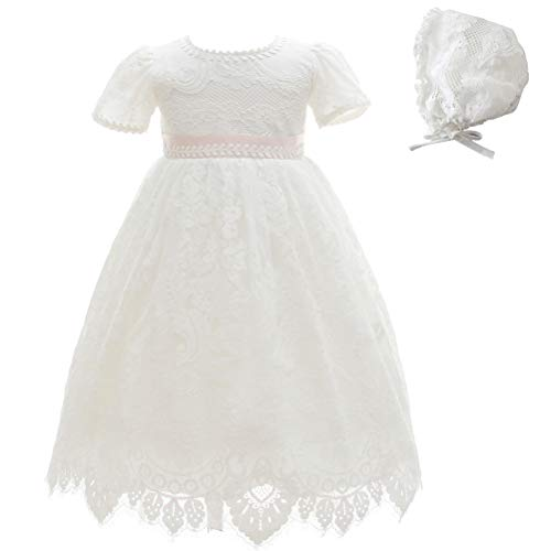 Moon Kitty Baby Girl Special Occasion Dress 2PCS Christening Baptism