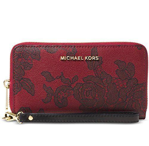 Michael Michael Kors Jet Set Travel Large Coin Multifunction Wallet