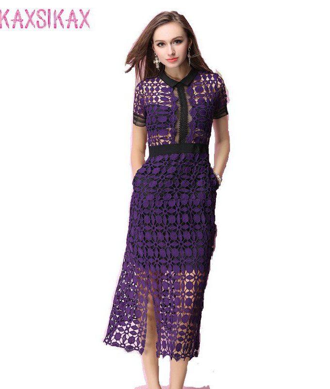New Women Summer Dress High-end Custom Self Portrait