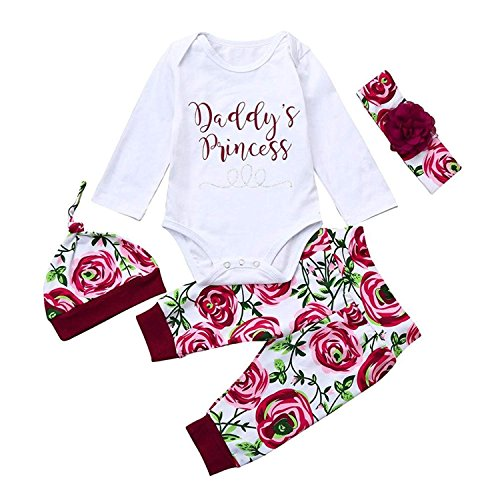 Younger Tree Newborn Infant Baby Girls Layette Gift Set Clothes