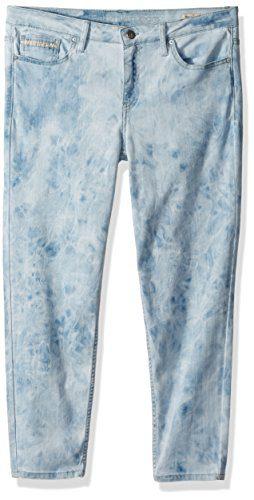 Calvin Klein Women's Ankle Skinny Jean, Marble Wash Dye