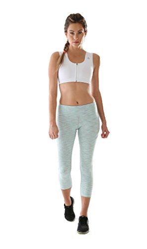 ALIGNMED Mid-Calf Capri Fitness Pants - Sexy Stylish Design