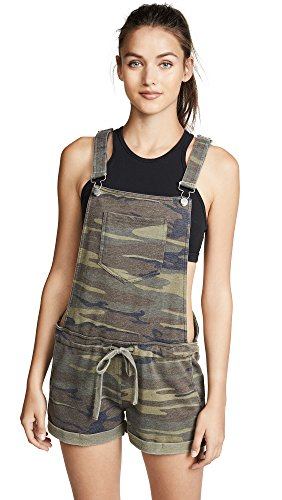 Z SUPPLY Women's The Camo Short Overalls