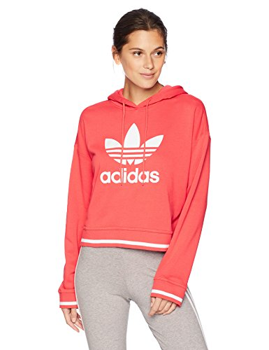 adidas Originals Women's Active Icons Cropped Hoodie