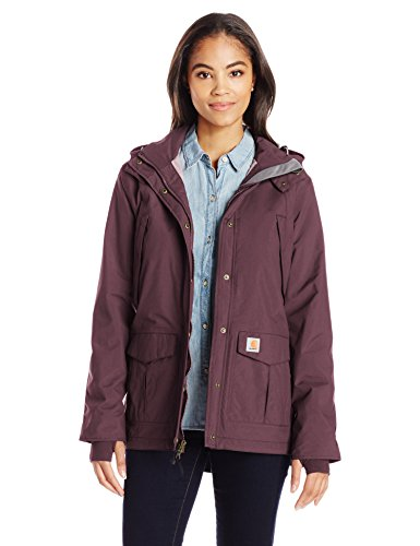 Carhartt Women's Shoreline Jacket, Deep Wine