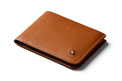 Bellroy Leather Hide & Seek Wallet Caramel - RFID