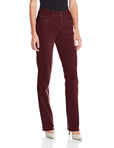 NYDJ Women's Marilyn Straight Jeans in Luxury Touch Denim