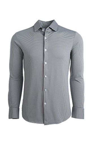 Mizzen + Main Spinnaker Trim Fit Mens Button Down Shirt