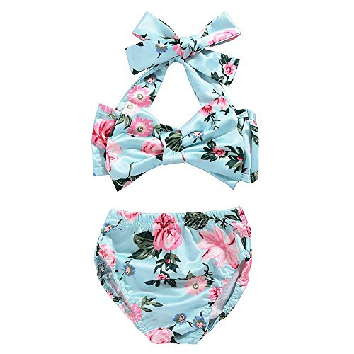 Moolia Infant Baby Girl Floral Sling Beach Bikini Set