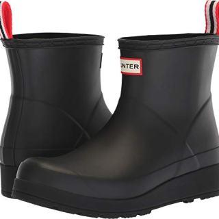 Hunter Women's Original Play Boot Short Rain Boots Black