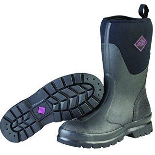 Muck Chore Rubber Women's Work Boots,Black