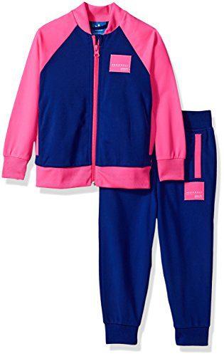 adidas Originals Baby Girls Infant EQT Sweatshirt & Pant Set