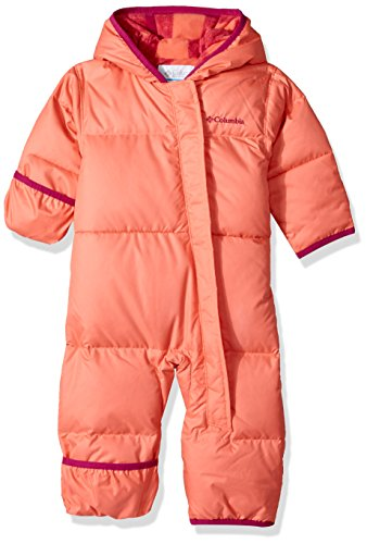 Columbia Baby Boys' Snuggly Bunny Bunting, Hot Coral