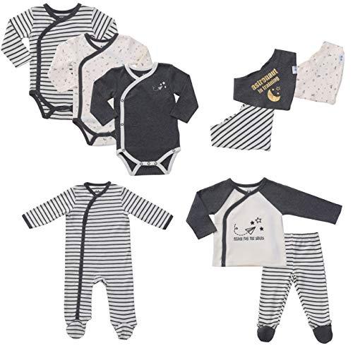 9-Piece Layette Set Unisex Baby Boy Gifts Set