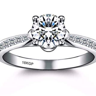 AndreAngel Engagement Wedding Ring Bridal Marriage Promise Proposal