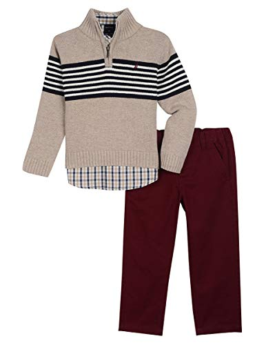 Nautica Toddler Boys' Three Piece Sweater Set
