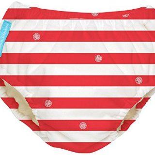 Charlie Banana Extraordinary Swim Diaper - Red Stripes