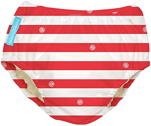 Charlie Banana Extraordinary Swim Diaper - Red Stripes