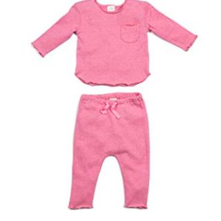 Egg by Susan Lazar Girl's Bobbi Set, Rose