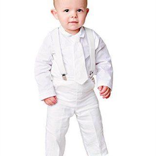 Landen 3M Baby Suspender Outfit