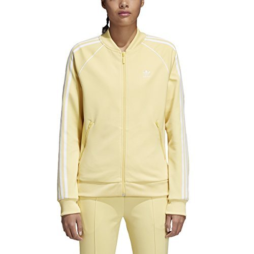 adidas Originals Women's SST Track Jacket Sand Medium