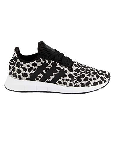 adidas Originals Women's Swift Run W Raw White/Core Black