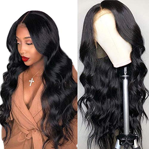 Luduna Brazilian Virgin Hair Body Wave Lace Front Wigs