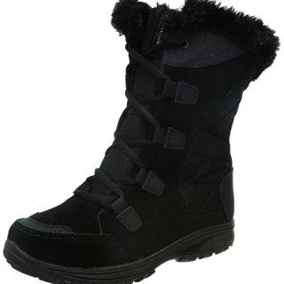 Columbia Women's ICE Maiden II Snow Boot, Black, Grey