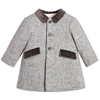 ZPW Baby Boy Wool Peacoat Gentleman Fashion Jacket Coat