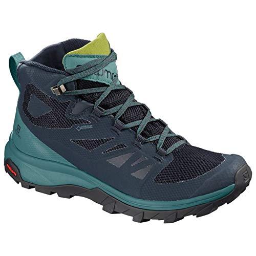 Salomon Women's Outline Mid GTX Hiking Boots Navy Blazer