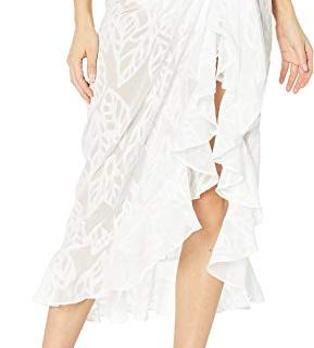 Lilly Pulitzer Women's Wilda Sarong Cover-Up Resort White