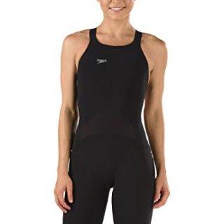 Speedo Women's LZR Elite 2 Comfort Strap Kneeskin Black