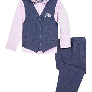 Nautica Baby Boys 4-Piece Formal Dresswear Vest Set
