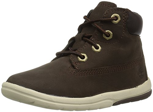 """Timberland Baby Toddle Tracks 6"""" Boot Ankle, Dark Brown Nubuck"""