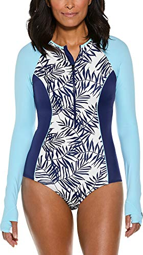Coolibar UPF 50+ Women's Long Sleeve Escalante Swimsuit