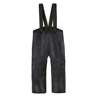 Disana Baby Boys Dungarees/Trousers Organic Boiled Merino Wool Anthracite