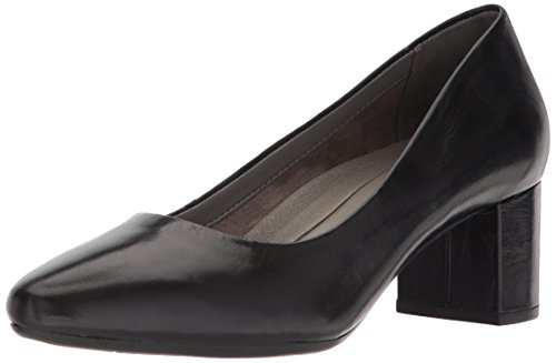 Aerosoles - Women's Silver Star Heel - Leather Round Toe Dress Pump