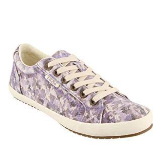 Taos Footwear Women's Star Mauve Camo Sneaker